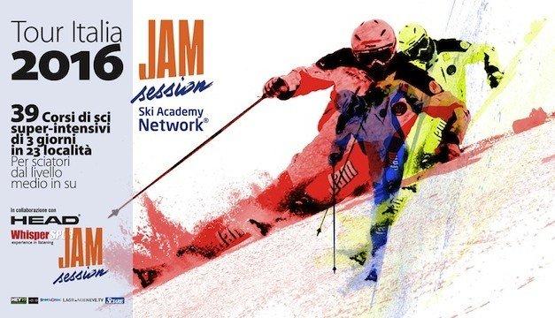 Jam Session Ski Tour Italia 2016