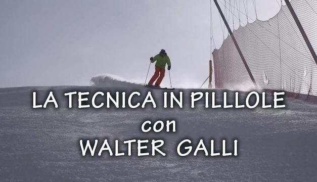 Tecnica in Pillole by Walter Galli – Promo 2016/17