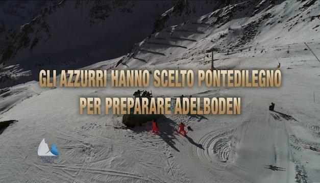 Gli azzurri hanno scelto Pontedilegno-Tonale per preparare Adelboden