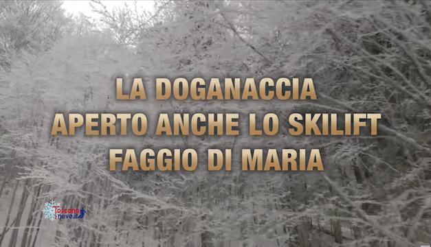 Doganaccia 2000 – Aperto anche lo skilift Faggio di Maria