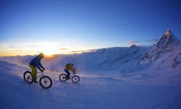 """Breuil-Cervinia 25 febbraio """"Primo raduno Snow Bike del Cervino"""""""