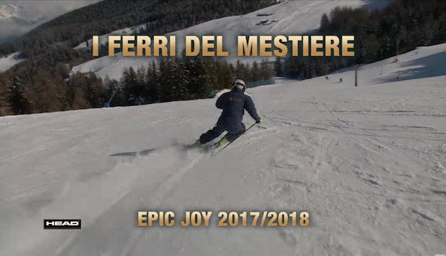 I Ferri del Mestiere – Head Epic Joy 2017/18