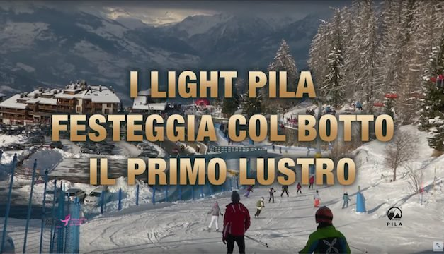 I Light Pila 2017 festeggia col botto le prime cinque edizioni