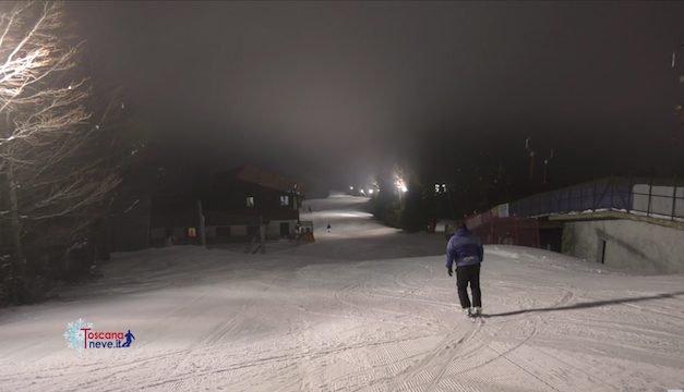 Doganaccia 2000, dove si scia anche di notte