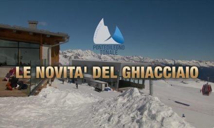 Pontedilegno-Tonale, le novità del ghiacciaio Presena
