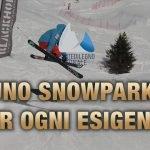 Pontedilegno-Tonale, uno snowpark per ogni esigenza