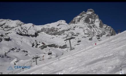 Breuil-Cervinia – Un gennaio pieno di neve