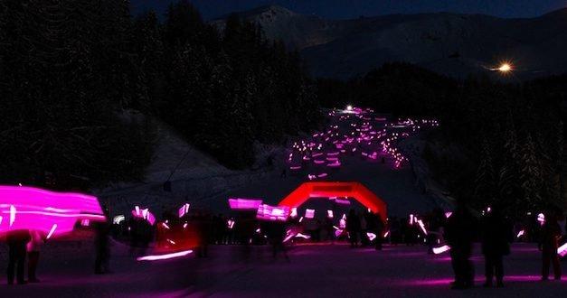 I LIGHT PILA, sabato 27 gennaio 2018 Torna la fiaccolata aperta a tutti, sulle nevi di Pila