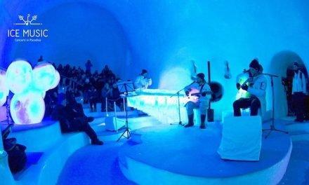 Ice Music, concerti in un teatro di ghiaccio sul Ghiacciaio Presena