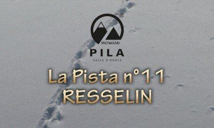 Pila – La pista n°11 Resselin (nera)