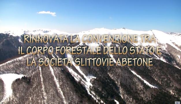 Rinnovata la convenzione tra il Corpo Forestale dello Stato e la Società Slittovie Abetone