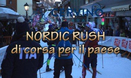 Nordic Rush di corsa per il paese