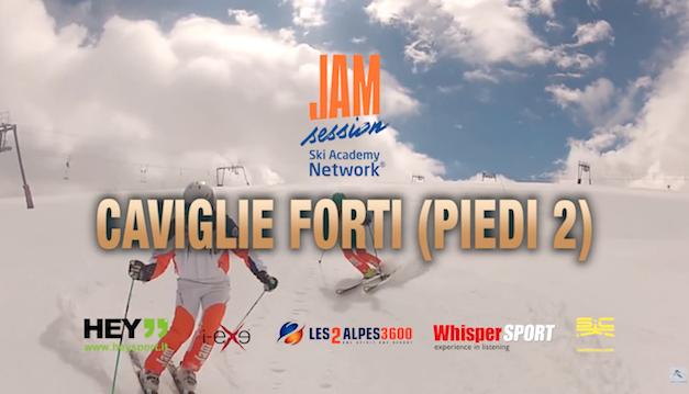 Corso di sci Check Point 04/2017 Caviglie forti