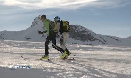 Breuil-Cervinia Una pista per sci alpinisti