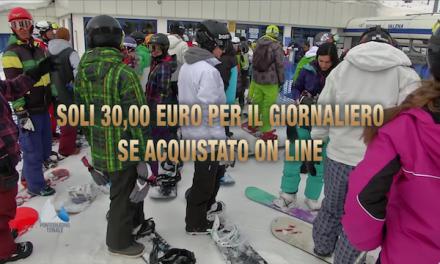 Pontedilegno-Tonale Soli 30 euro per il giornaliero se acquistato on line