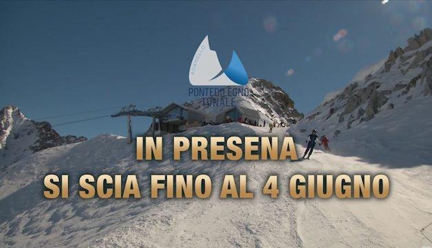 Pontedilegno-Tonale, si scia fino a Giugno