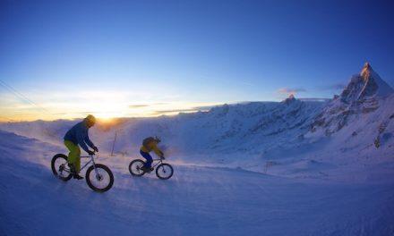 Breuil-Cervinia 1° Raduno snow bike del Cervino
