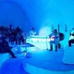Ice Music sul Ghiacciaio Presena