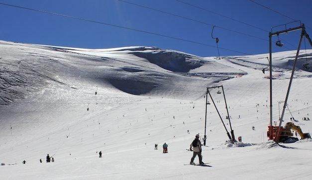 Domenica 8 Settembre ultima giornata di sci estivo a Breuil-Cervinia.