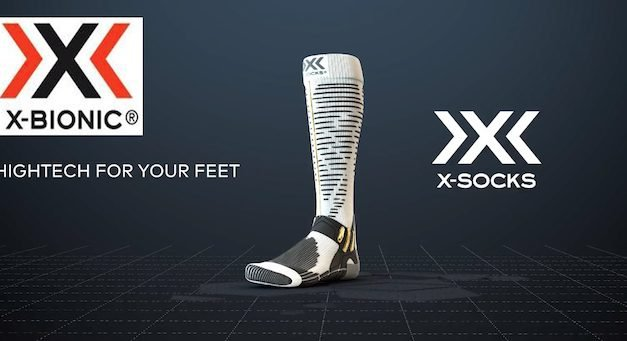X-BIONIC per i vent'anni di X-SOCKS® Una calza dedicata agli sport invernali