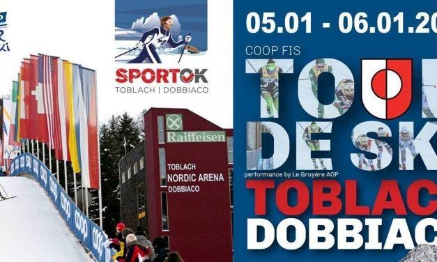 FIS e FISI a Dobbiaco per il TOUR DE SKI 2021