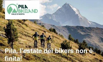 Pila, l'estate dei bikers non è finita
